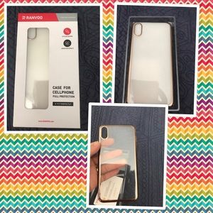 Ranvoo phone case for the iPhone XS Max gold
